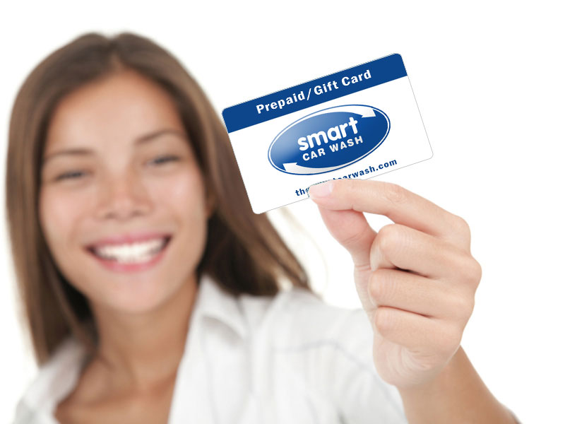 The Smart Car Wash Gift Cards